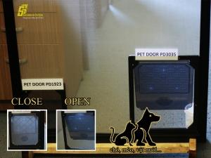 PET DOOR - Cửa lưới chống muỗi dành cho vật nuôi