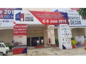 Alohouse tham dự triển lãm tại Campuchia 6/2019